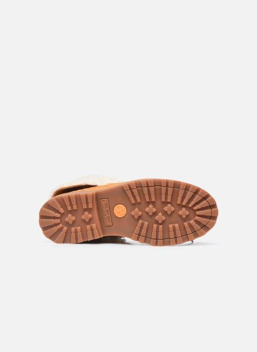 Boots en enkellaarsjes Timberland Courma Kid Shrl RT Bruin boven