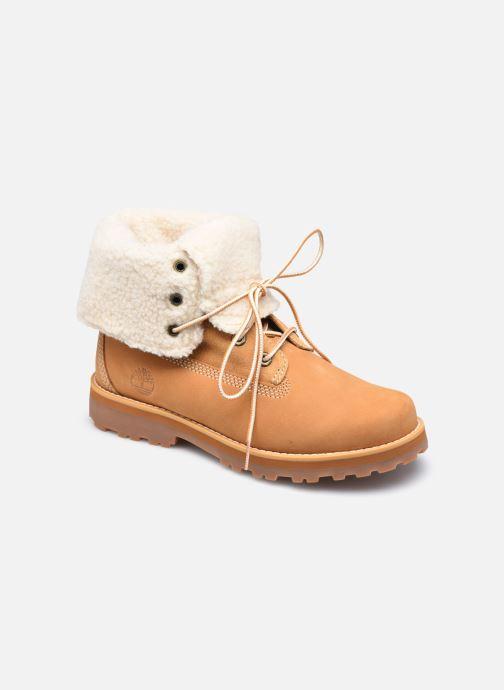 Bottines et boots Timberland Courma Kid Shrl RT Marron vue détail/paire