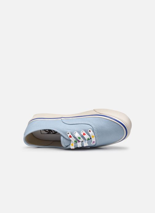 Baskets Vans Authentic 44 DX W Bleu vue gauche