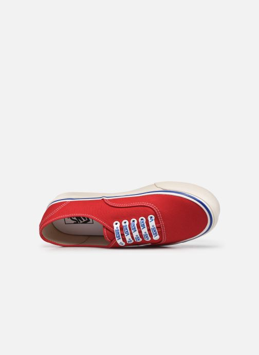 Sneaker Vans Authentic 44 DX rot ansicht von links