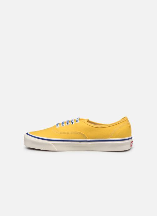 Sneaker Vans Authentic 44 DX gelb ansicht von vorne
