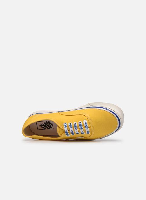 Sneaker Vans Authentic 44 DX gelb ansicht von links