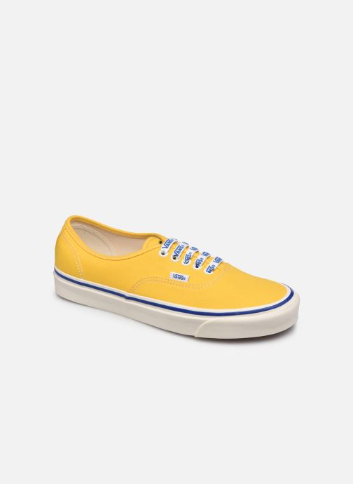 Baskets Vans Authentic 44 DX Jaune vue détail/paire
