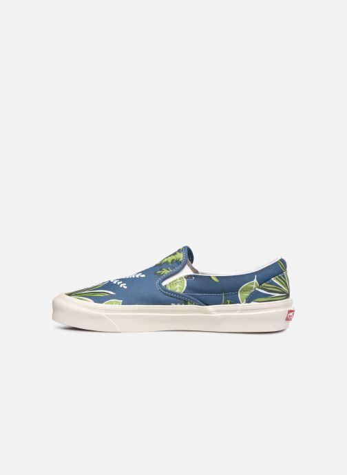 Sneaker Vans Classic Slip-On 9 blau ansicht von vorne
