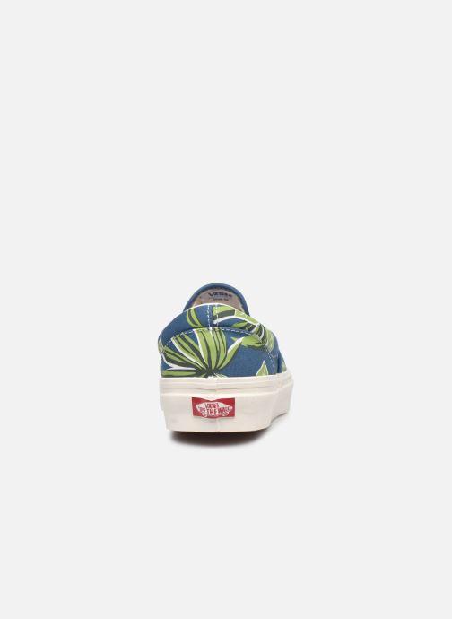 Sneaker Vans Classic Slip-On 9 blau ansicht von rechts