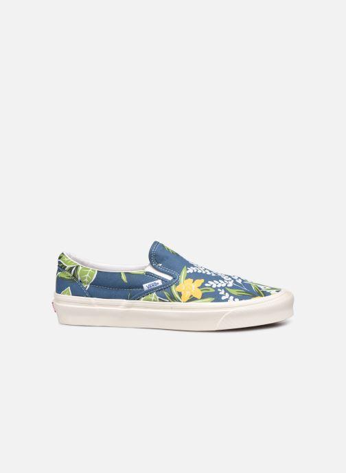 Sneaker Vans Classic Slip-On 9 blau ansicht von hinten