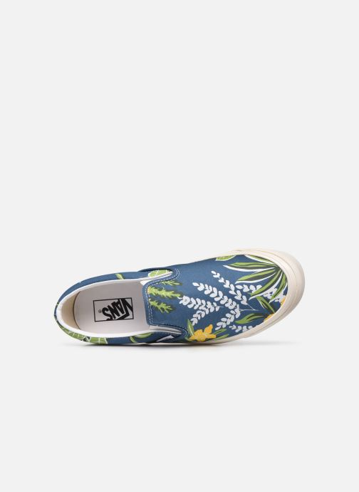 Sneaker Vans Classic Slip-On 9 blau ansicht von links