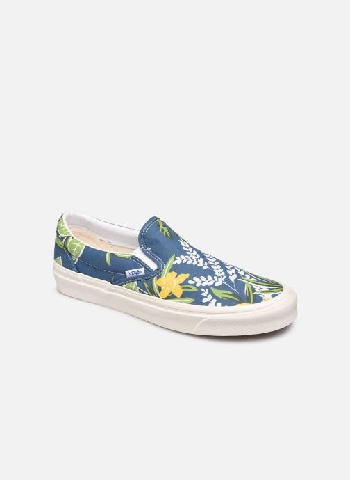 Sneaker Vans Classic Slip-On 9 blau detaillierte ansicht/modell