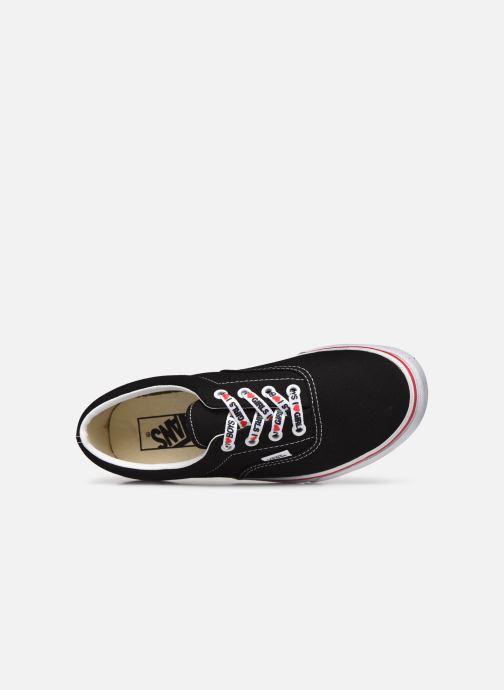 Sneaker Vans UA Era W schwarz ansicht von links