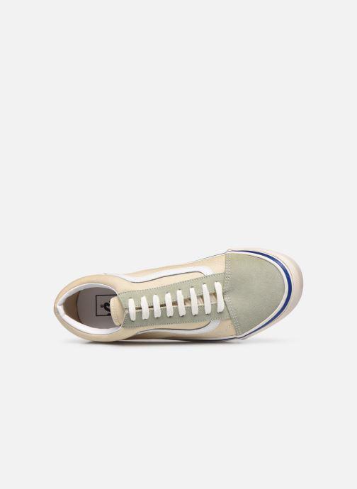 Sneaker Vans UA Old Skool 36 DX beige ansicht von links