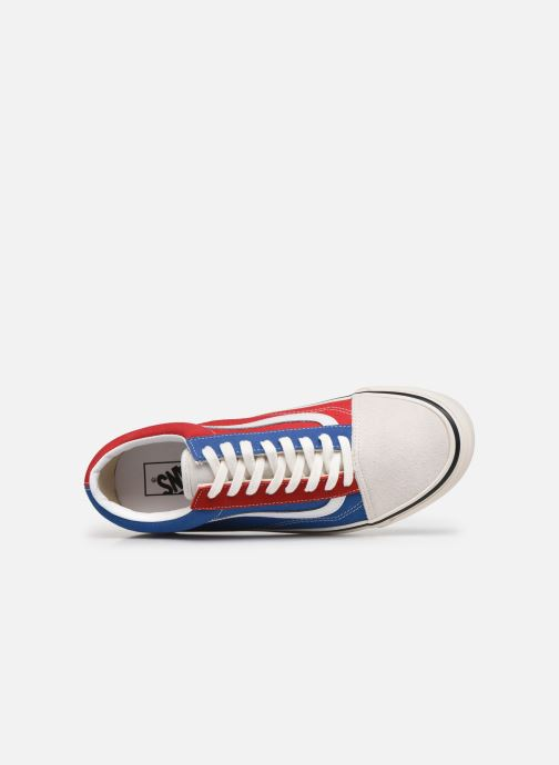 Baskets Vans UA Old Skool 36 DX Bleu vue gauche