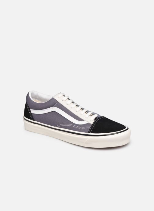 Baskets Vans UA Old Skool 36 DX Gris vue détail/paire