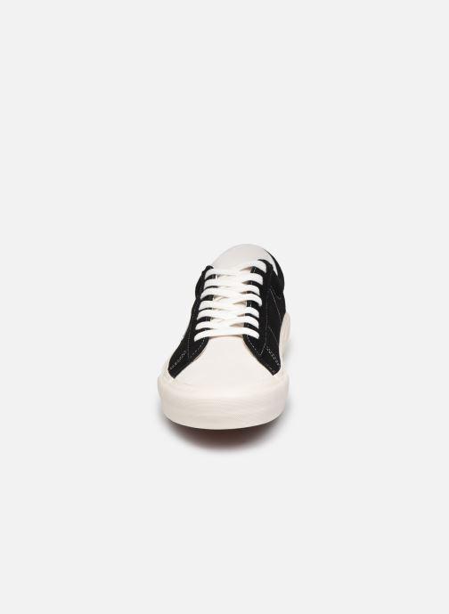 Sneaker Vans UA Sid DX schwarz schuhe getragen