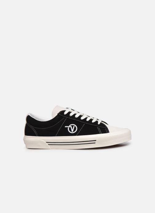 Sneaker Vans UA Sid DX schwarz ansicht von hinten