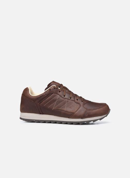 Chaussures de sport Merrell Alpine Sneaker Ltr Marron vue derrière