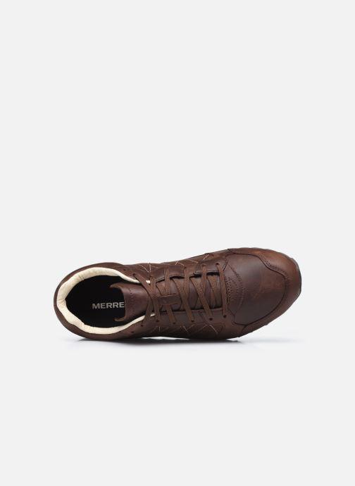 Zapatillas de deporte Merrell Alpine Sneaker Ltr Marrón vista lateral izquierda