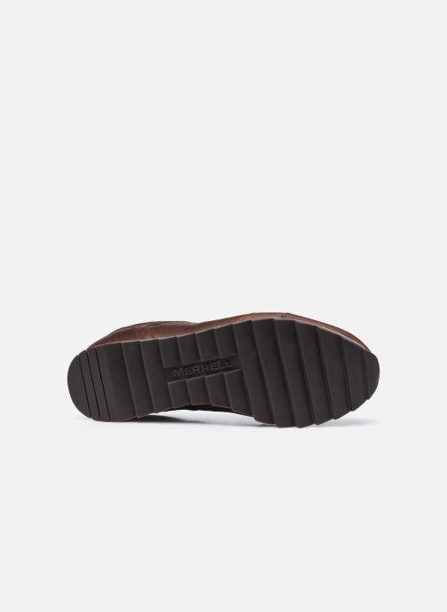 Chaussures de sport Merrell Alpine Sneaker Ltr Marron vue haut