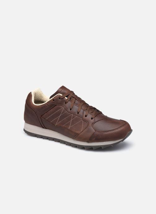 Chaussures de sport Merrell Alpine Sneaker Ltr Marron vue détail/paire