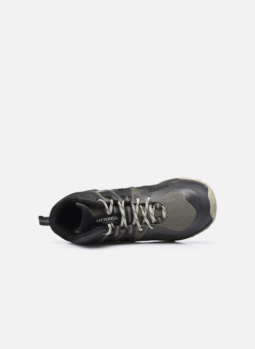 Zapatillas de deporte Merrell Mqm Flex 2 Mid Gtx Gris vista lateral izquierda