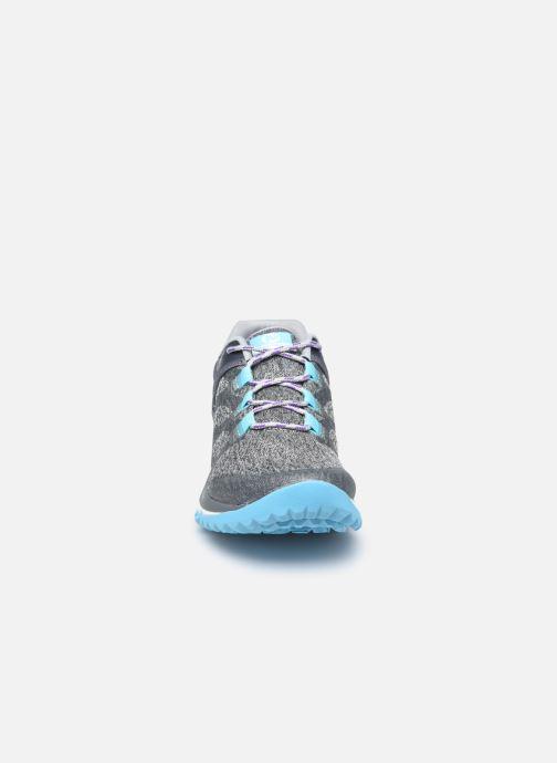 Chaussures de sport Merrell Antora W Gris vue portées chaussures