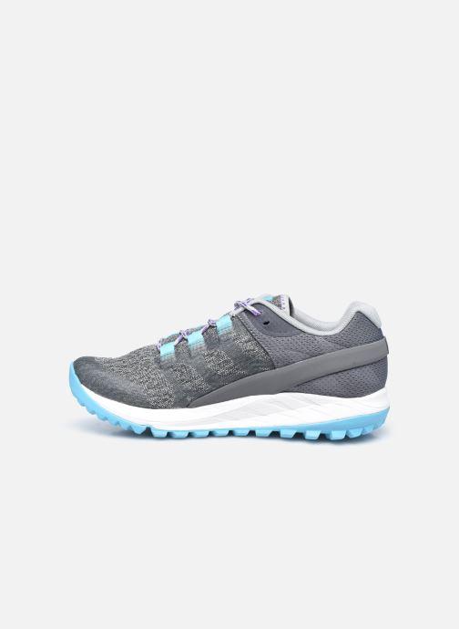 Chaussures de sport Merrell Antora W Gris vue face
