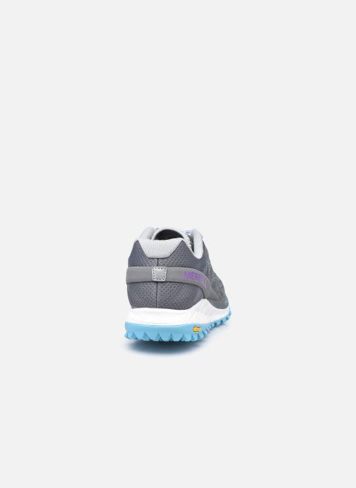 Chaussures de sport Merrell Antora W Gris vue droite
