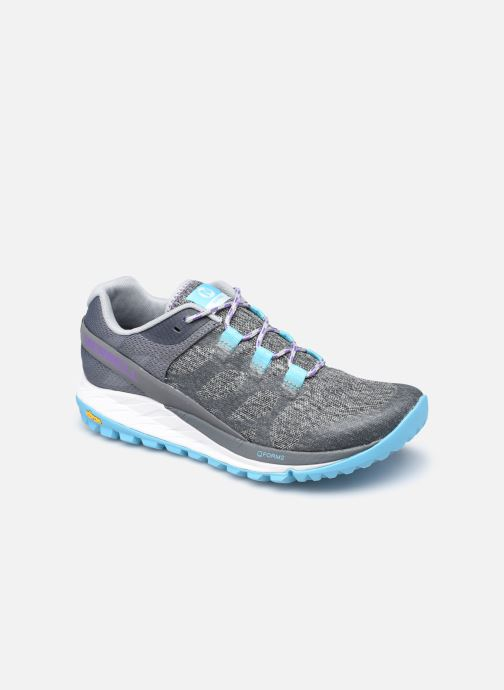 Chaussures de sport Merrell Antora W Gris vue détail/paire