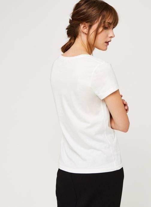 Vêtements I.Code Qr10074 Blanc vue portées chaussures