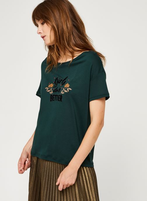 Vêtements I.Code Qr10124 Vert vue droite