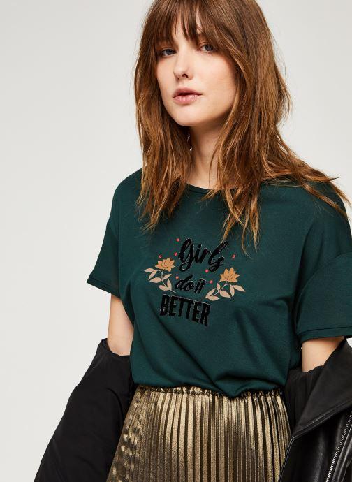 Vêtements I.Code Qr10124 Vert vue détail/paire
