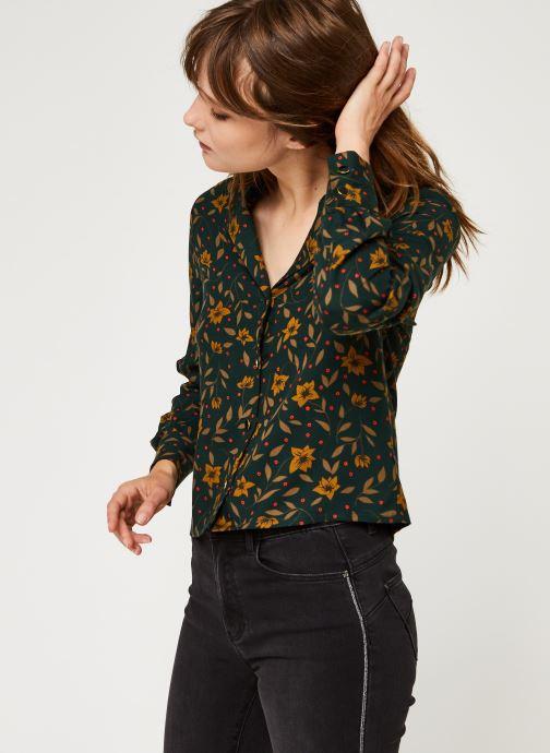Vêtements I.Code Qr12024 Vert vue droite