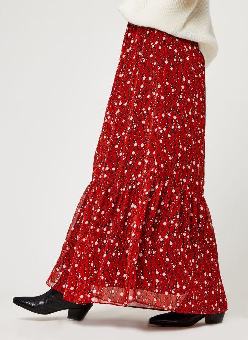 Vêtements I.Code Qr27074 Rouge vue détail/paire