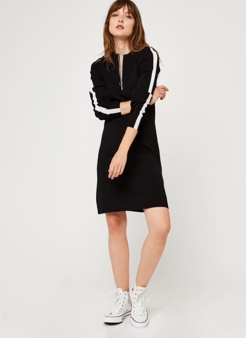 Vêtements I.Code Qr30284 Noir vue bas / vue portée sac