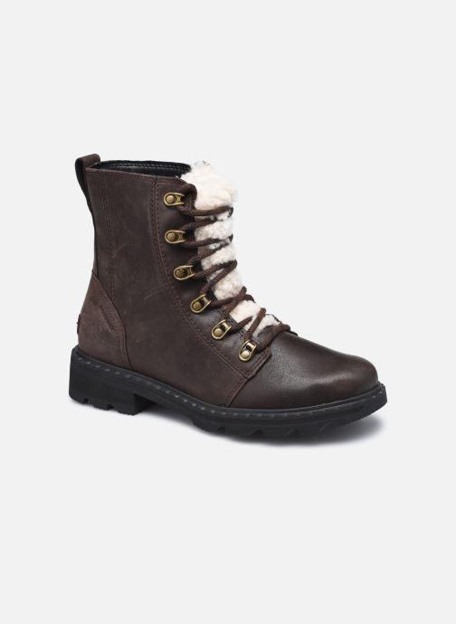 Stiefeletten & Boots Sorel Lennox Lace Cozy braun detaillierte ansicht/modell