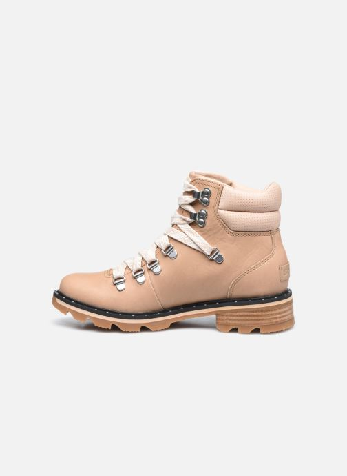 Bottines et boots Sorel Lennox Hiker Beige vue face