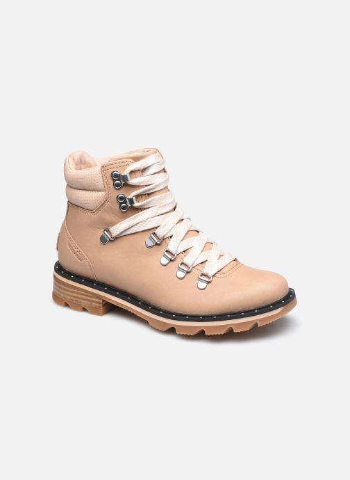 Bottines et boots Sorel Lennox Hiker Beige vue détail/paire