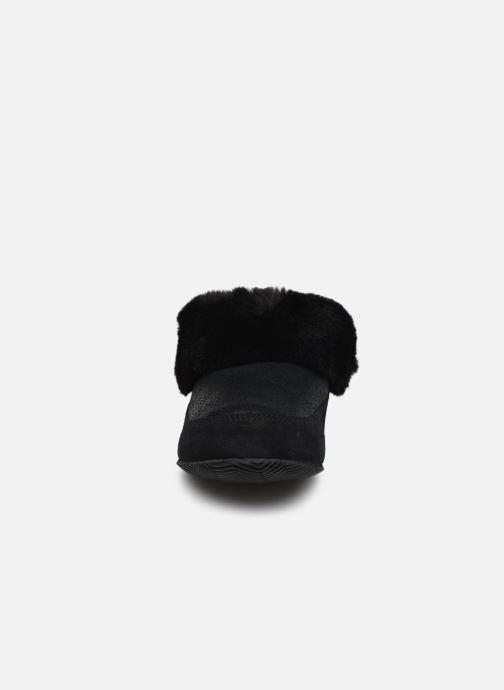 Pantuflas Sorel Sorel Go - Coffee Run Negro vista del modelo