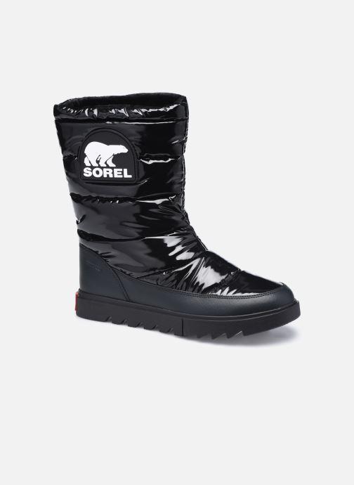 Sportssko Sorel Joan Of Arctic Next Lite Mid Puffy Sort detaljeret billede af skoene