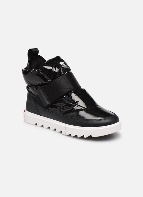 Stiefeletten & Boots Sorel Joan Of Arctic Next Lite Strap Puffy schwarz detaillierte ansicht/modell
