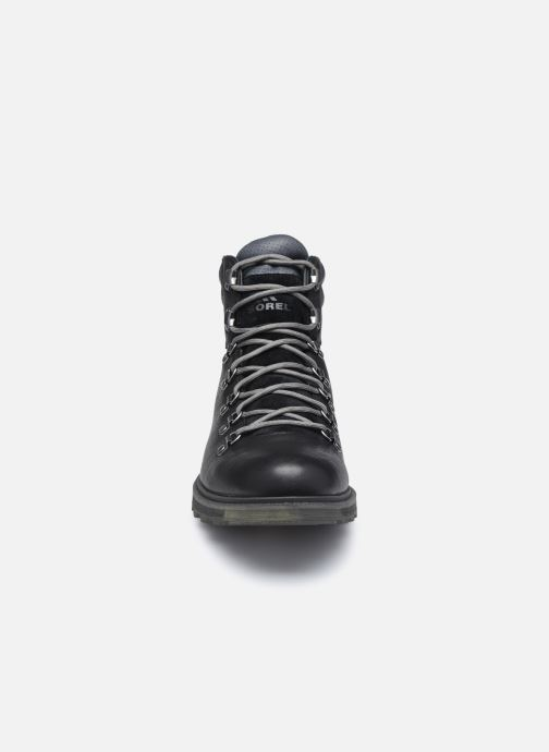 Stiefeletten & Boots Sorel Madson II Hiker WP schwarz schuhe getragen