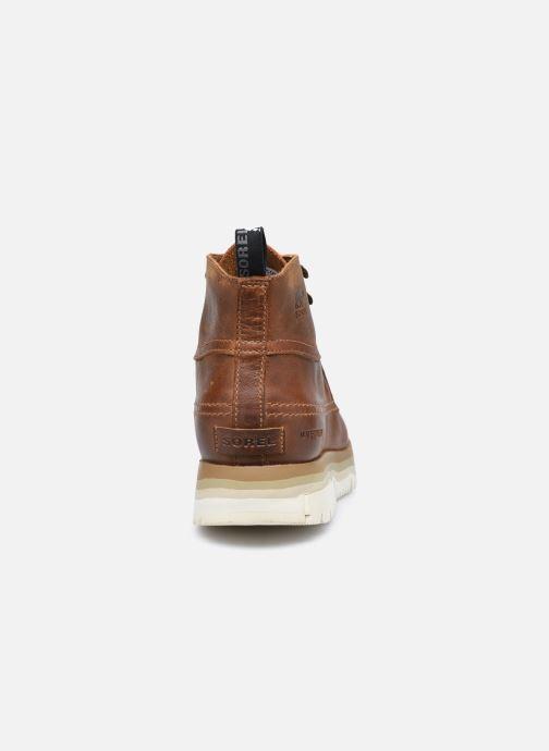 Stiefeletten & Boots Sorel Atlis Chukka WP braun ansicht von rechts