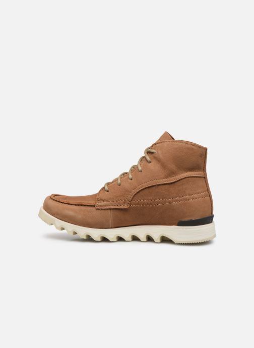 Stiefeletten & Boots Sorel Kezar Moc Wp braun ansicht von vorne