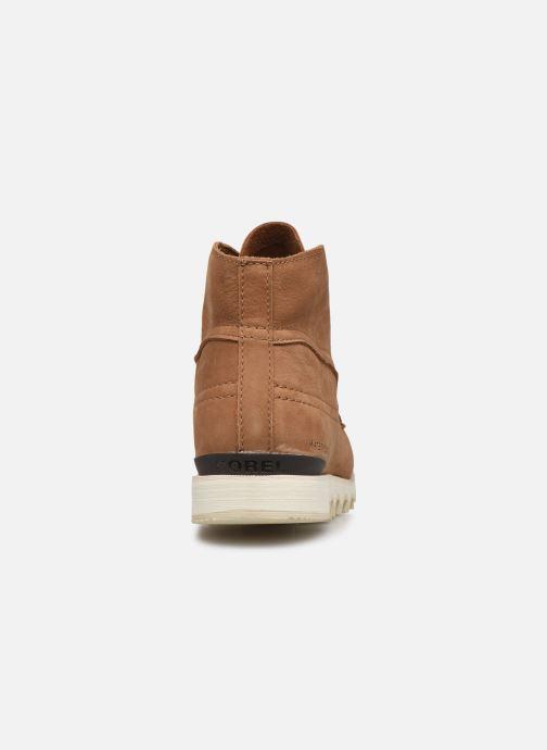 Stiefeletten & Boots Sorel Kezar Moc Wp braun ansicht von rechts