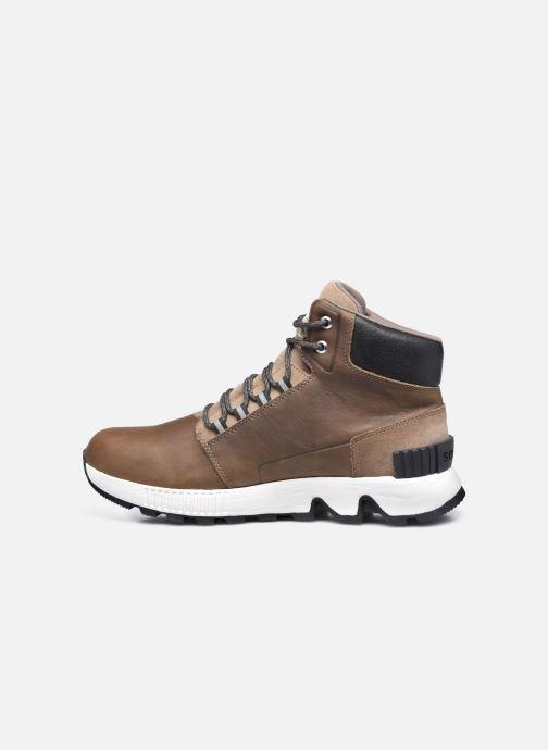 Stiefeletten & Boots Sorel Mac Hill Mid Ltr WP grün ansicht von vorne