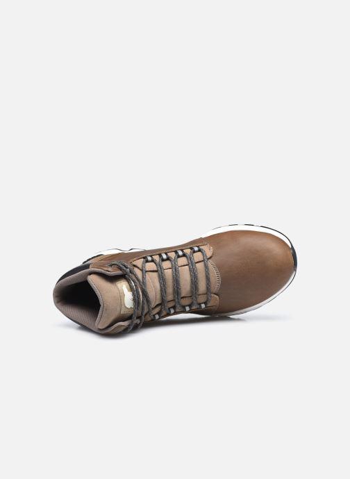 Stiefeletten & Boots Sorel Mac Hill Mid Ltr WP grün ansicht von links