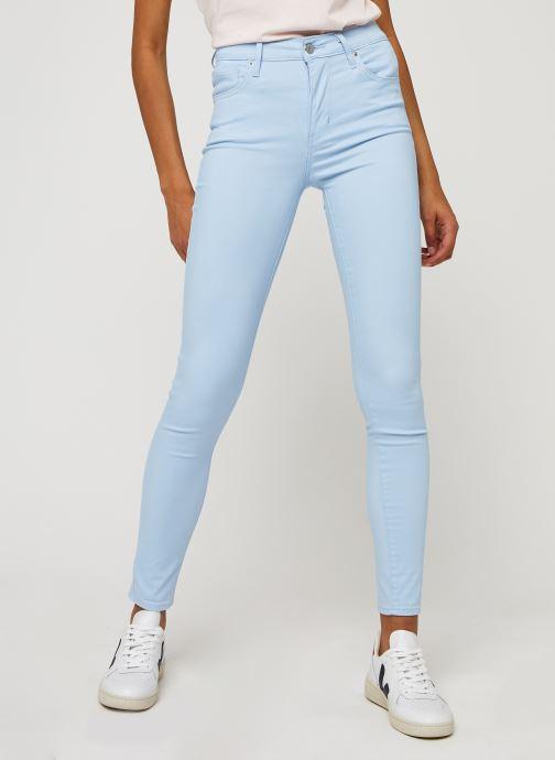 Vêtements Levi's 723 High Rise Skinny W Bleu vue détail/paire