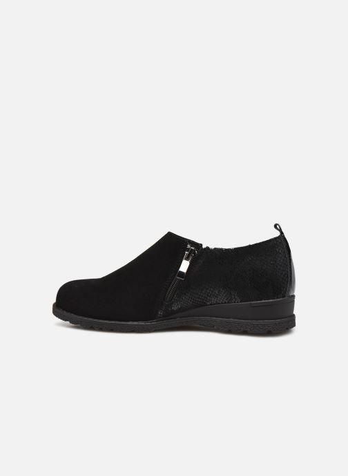 Zapatos con cordones Damart Mélanie Negro vista de frente