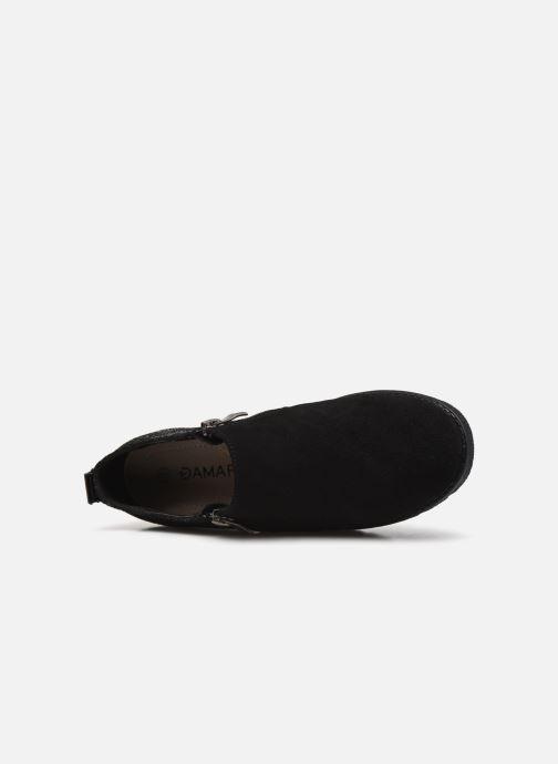 Zapatos con cordones Damart Mélanie Negro vista lateral izquierda