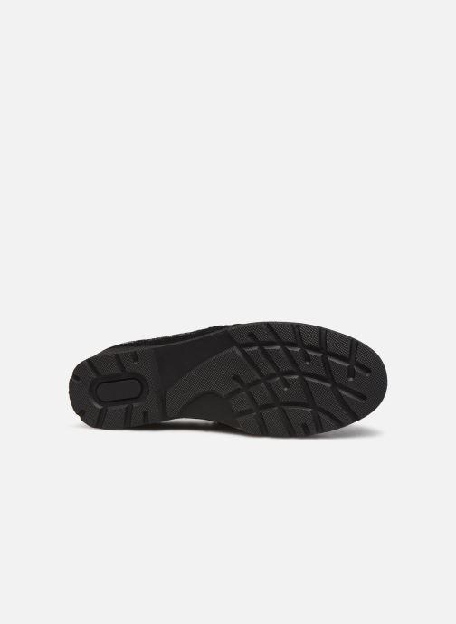 Zapatos con cordones Damart Mélanie Negro vista de arriba