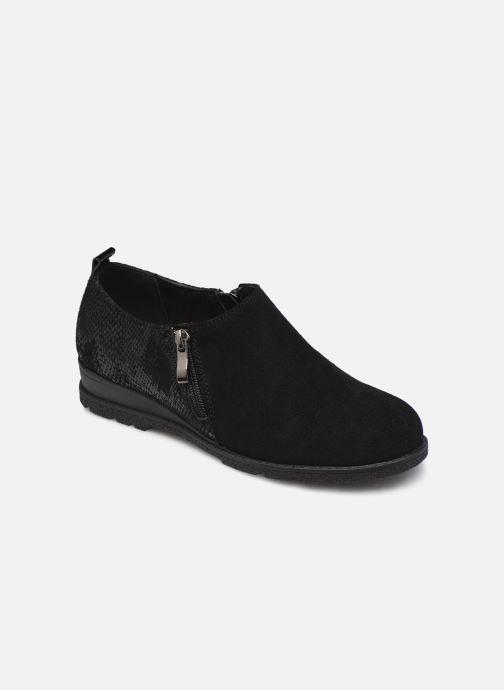 Zapatos con cordones Damart Mélanie Negro vista de detalle / par
